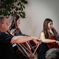 Konzert Vielsaitig zum Schlossbergfest 2018 am 16.06.2018. Fotos: Sven Ganka